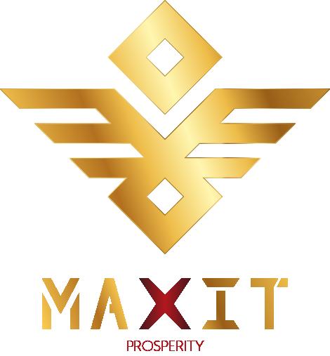 MAXIT Prosperity logo duże z nazwą